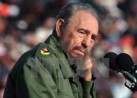 Cuba tuyen bo to chuc quoc tang Lanh tu Fidel Castro trong 9 ngay - Anh 1