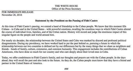 Tong thong Barack Obama chia buon voi nhan dan Cuba - Anh 1