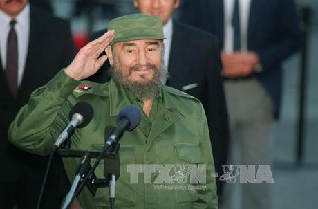 Nicaragua quoc tang 9 ngay tuong nho Lanh tu Cuba Fidel Castro - Anh 1