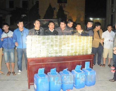 Bat qua tang vu van chuyen trai phep 300 banh heroin - Anh 2