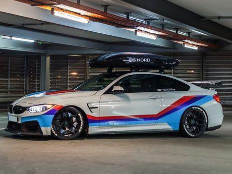 Chiem nguong ban do an tuong BMW M4R cua Carbonfiber Dynamics - Anh 10