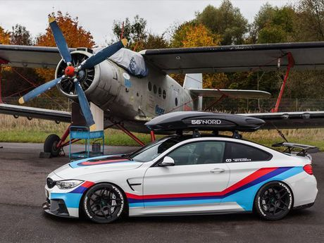 Chiem nguong ban do an tuong BMW M4R cua Carbonfiber Dynamics - Anh 12