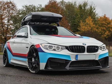 Chiem nguong ban do an tuong BMW M4R cua Carbonfiber Dynamics - Anh 1