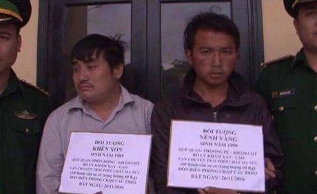 Nong: 60kg ma tuy vuot dat Lao, vua vao Viet Nam bi danh sap - Anh 1