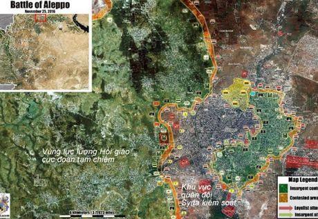 Chien su Syria: Tran chien gianh cao diem then chot o tu dia Aleppo - Anh 1
