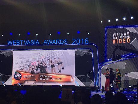 Chi Pu, Ly Hai, Son Tung M-TP lan luot 'am giai' tai WebTV Asia 2016 - Anh 1