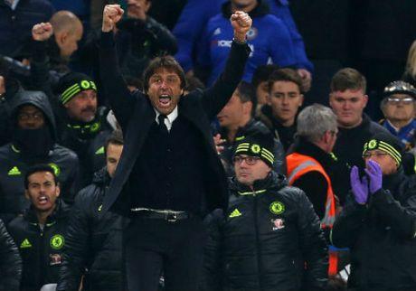 Chelsea bay tren dinh, Conte chua dam mo vo dich - Anh 2