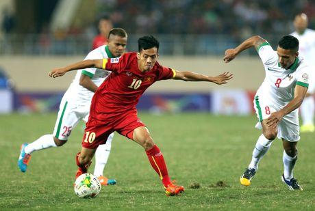 Viet Nam that the khi doi dau Indonesia o AFF Cup - Anh 1