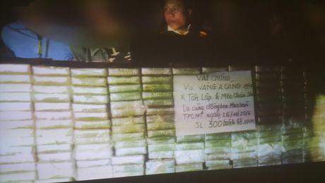 Giau 300 banh heroin trong can nhua mang di tieu thu - Anh 1