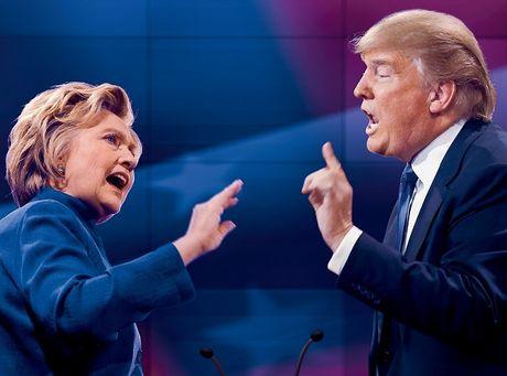 Tai kiem phieu bau cu, ba Clinton ung ho, ong Trump goi la 'tro lo bich' - Anh 1