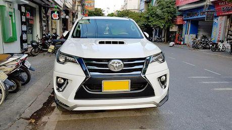 Toyota Fortuner 2017 chua ban da co ban do Lexus tai Viet Nam - Anh 2