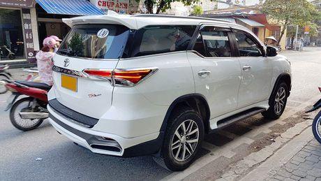 Toyota Fortuner 2017 chua ban da co ban do Lexus tai Viet Nam - Anh 4