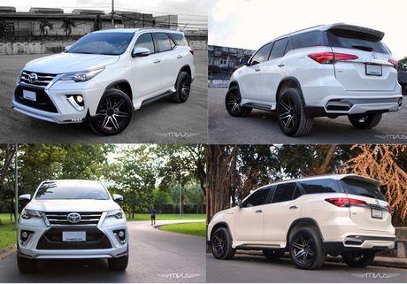 Toyota Fortuner 2017 chua ban da co ban do Lexus tai Viet Nam - Anh 5