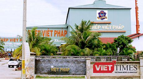 Quang Nam da duyet bao cao DTM nha may thep dau nguon nuoc - Anh 1