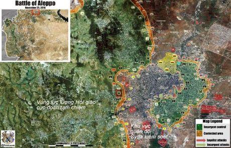 Video chien su Syria: Tran chien gianh cao diem then chot o tu dia Aleppo - Anh 1