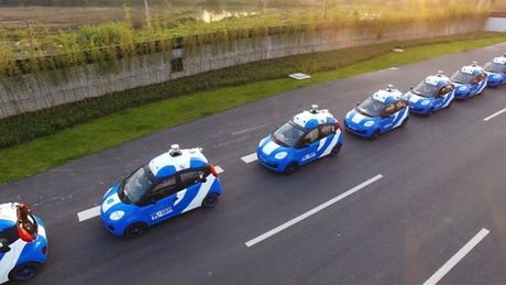 Baidu bat dau thu nghiem cong khai xe tu lai tai Wuzhen, Trung Quoc - Anh 1