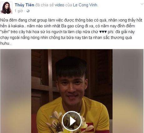 Ve Viet Nam, Cong Vinh ghe voi nha an com Thuy Tien nau - Anh 3