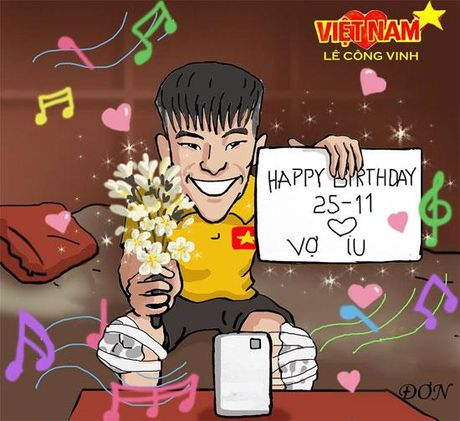 Ve Viet Nam, Cong Vinh ghe voi nha an com Thuy Tien nau - Anh 4