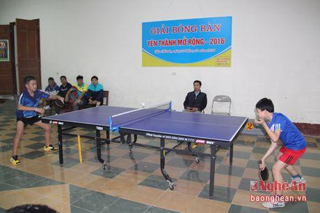 Be mac giai bong ban Yen Thanh mo rong nam 2016 - Anh 1