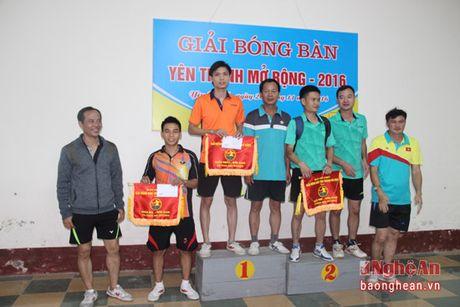 Be mac giai bong ban Yen Thanh mo rong nam 2016 - Anh 2