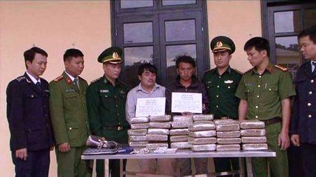 Bat 2 doi tuong van chuyen 60 banh can sa - Anh 1
