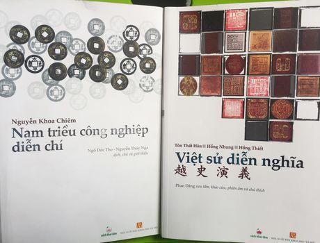 Ra mat sach quy Nam trieu cong nghiep dien chi va Viet su dien nghia - Anh 1