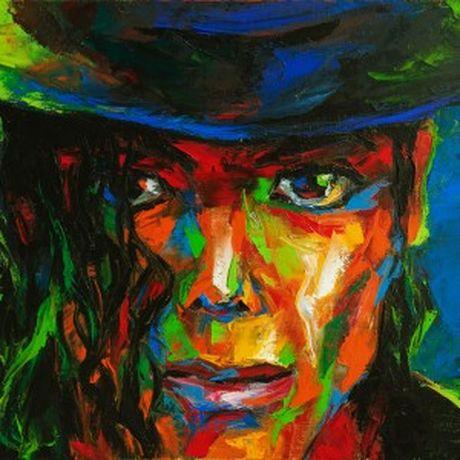 Trien lam 15 buc chan dung Michael Jackson kho lon - Anh 2