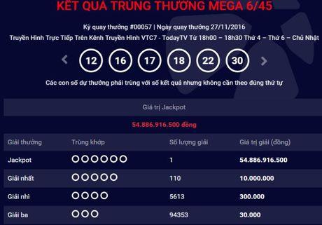 Xac dinh nguoi thu 5 trung thuong giai Jackpot 54 ti - Anh 1