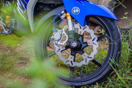 Exciter doi cu tang tinh nang van hanh cua biker Quang Ngai - Anh 10