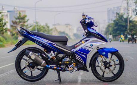 Exciter doi cu tang tinh nang van hanh cua biker Quang Ngai - Anh 1