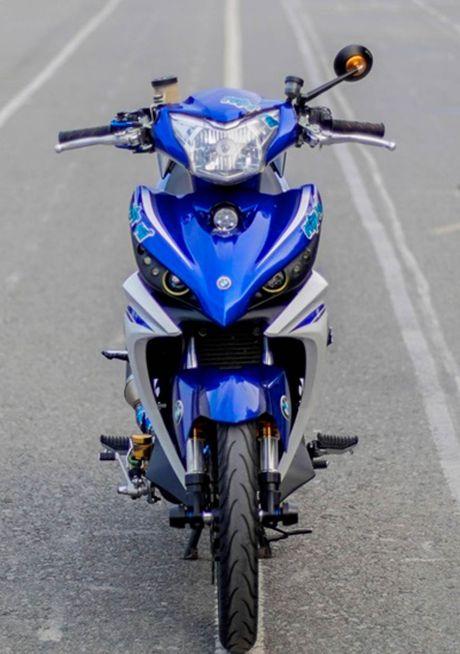 Exciter doi cu tang tinh nang van hanh cua biker Quang Ngai - Anh 2