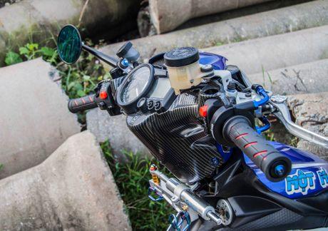 Exciter doi cu tang tinh nang van hanh cua biker Quang Ngai - Anh 4
