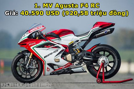 Top 10 chiec moto dat nhat cua hang MV Agusta - Anh 1