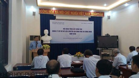 Co so du lieu chuyen gia KH&CN: Qua it chuyen gia o mien Trung va Nam bo - Anh 1