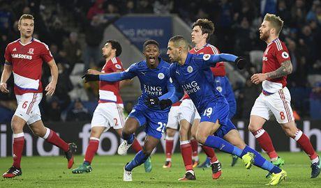 Leicester thoat thua doi moi len hang nho hai qua phat den - Anh 1