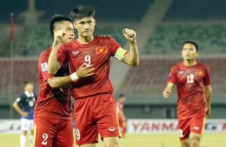 Viet Nam toan thang vong bang, gap Indonesia o ban ket AFF Cup - Anh 1