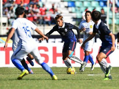 'Messi' Campuchia va Cong Phuong ai hon? - Anh 1