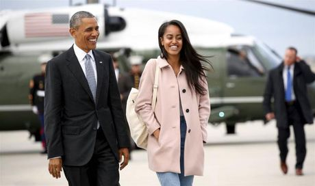 Con gai ca ong Obama hoan nhap hoc Harvard de gia dinh on dinh sau khi roi Nha Trang - Anh 1