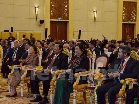 Pho Chu tich Quoc hoi Tong Thi Phong tham du Hoi nghi APA-9 - Anh 1