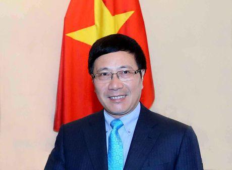 Pho Thu tuong Pham Binh Minh tham chinh thuc Australia, New Zealand - Anh 1