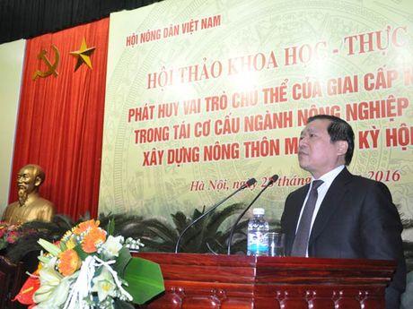 Tao co che, chinh sach dot pha de nong dan thuc su lam chu - Anh 1