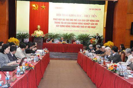 Tao co che, chinh sach dot pha de nong dan thuc su lam chu - Anh 2