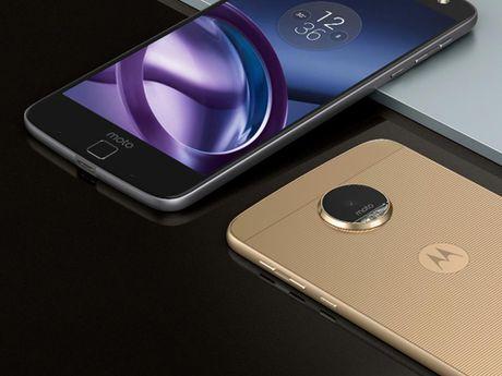 Lenovo trinh lang bo doi smartphone Moto Z, Moto Z Play - Anh 1