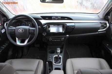 Cam lai ban tai Toyota Hilux 2016 gia tu 697 trieu tai VN - Anh 3