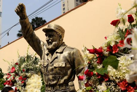 Chum anh the gioi tuong nho lanh tu Cuba Fidel Castro - Anh 10
