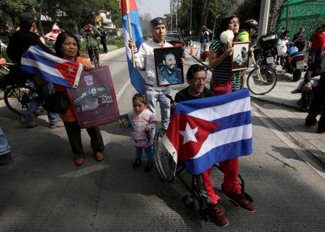Chum anh the gioi tuong nho lanh tu Cuba Fidel Castro - Anh 7