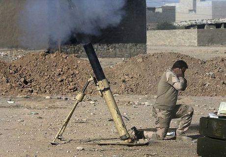 Hinh anh dac nhiem Iraq tien sau vao dong Mosul - Anh 2