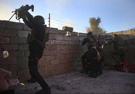 Hinh anh dac nhiem Iraq tien sau vao dong Mosul - Anh 4