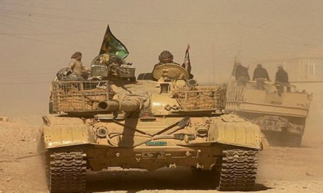 Hinh anh dac nhiem Iraq tien sau vao dong Mosul - Anh 6