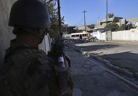 Hinh anh dac nhiem Iraq tien sau vao dong Mosul - Anh 8